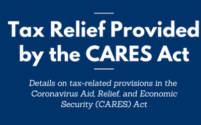 Tax Relief Provided by the CARES Act
