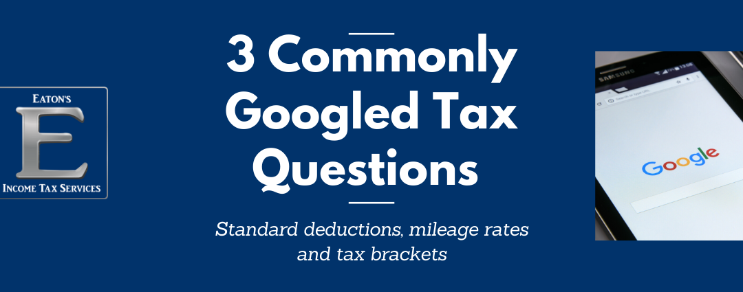 3 Commonly Googled Tax Questions Answered